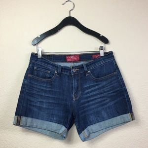 Lucky Brand The Roll Up Jean Short